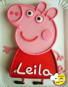 Birthday Cake. I wish I had Peppa's narrator doing the voiceover for my life . ..