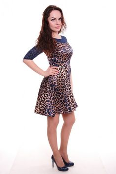 Платье А4153 Размеры: 42-48 Цена: 750 руб.  http://optom24.ru/plate-a4153/  #одежда #женщинам #платья #оптом24
