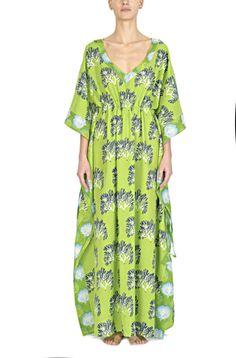 Indian Cotton Colorful Printed Beach Kimonos | Opaline