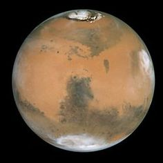 The planet Mars - Hubble Space Telescope in 1999