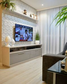 [New] The 10 Best Home Decor Today (with Pictures) Tv Unit Furniture, Home Decor Furniture, Tv Unit Interior Design, Modern Tv Room, Living Room Tv Unit Designs, Sala Grande, Living Room Decor Inspiration, Sofa Design, Decoration