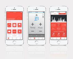 iOS Shower Control App for AKW LTD