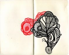 A drawing I did in my moleskine.