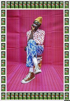 Hassan Hajjaj tire le portrait de... Keziah Jones