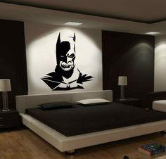 WALL ART LARGE CHRISTIAN BALE BATMAN VINYL DECAL