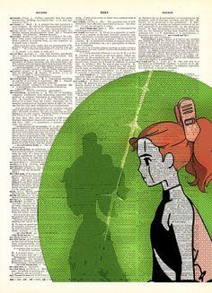 Arrietty the Borrower Studio Ghibli Inspired Art by AvantPrint,