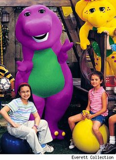 selena gomez barney and friends photos  | Demi Lovato On Barney And Friends With Selena Gomez
