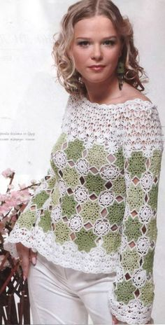MADE TO ORDER elegant spring / summer women crochet by AsDidy
