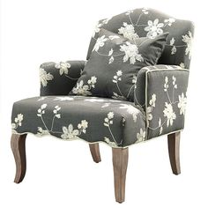 Linon Floral Arm Chair. Feminine Style And A Charming Design Makes The  Floral Arm Chair