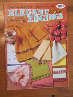 Coats & Clarks Elegant Edgings to Knit by CuriousCatVintage, $3.00