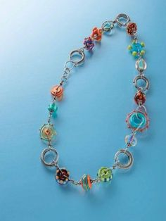Loops + Dots; Cindy Wimmer; Step by Step Wire JewelryApril/May 2014 | InterweaveStore.com