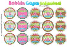 15 Warning I Bite Download for 1 Bottle Caps 4x6 by MaddieZee, $1.50