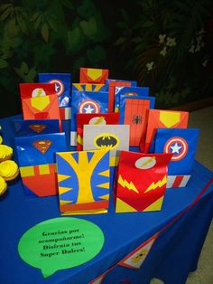 Marvel Superheroes Squad Birthday Party Ideas | Photo 5 of 22 | Catch My Party