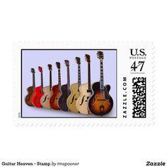 Guitar Heaven - Stamp
