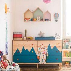 mommo design: IKEA HACKS FOR KIDS – Tarva dresser