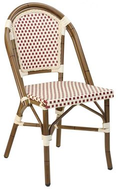 Paris Side Chair Patio Chairs, Rattan Dining Chairs, Bistro Chairs, Wicker  Chairs,