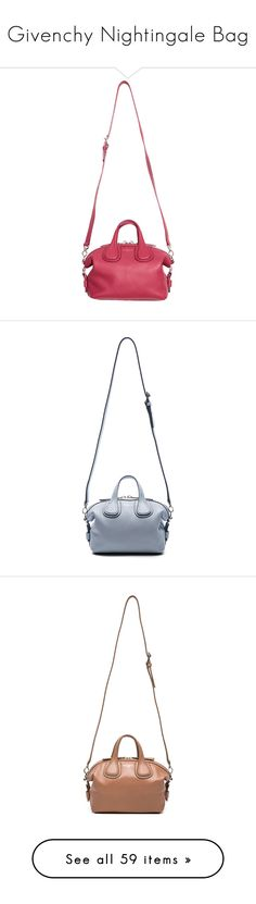 """""""Givenchy Nightingale Bag"""" by mungivore ❤ liked on Polyvore featuring bags, handbags, leather bags, givenchy purse, white purse, real leather handbags, white leather bag, zip top bag, man bag and givenchy handbags"""