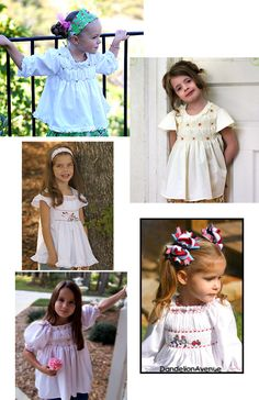 Need to make one of these this summer for a little one who thinks she is too big for smocked dresses!!!