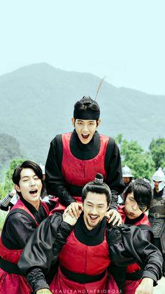 Moon Lovers Cast, Moon Lovers Drama, Lee Joon Gi Wallpaper, Scarlet Heart Ryeo, Korean Male Actors, Wang So, Exo Album, Joo Hyuk, Anime Expressions