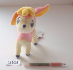 Takara Tomy Pokemon Deerling Sesokitz Vivaldaim Plush Doll.From japan #TakaraTomy
