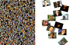 MOBILEJAM-558 USELESSMOBILESELF-POTRAITS - 2007 - (full work and details from book project - digitalshot collage with phone shots - cm203 x 270) - 2007 - twitter.com/ragnoxxx #contemporaryart #conceptualart #artecontemporanea #visualart #arte #artcontemporain #photografy #artcollectors #art #contemporaryphotografy #artgallery #artexhibition #artcollector #kunst #cosegiaviste #installation