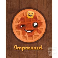 Impressed Waffle 8x10 Print from Steamcrow