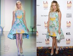 Teresa Palmer In Peter Pilotto – 'The Ever After' Los Angeles Film Festival Premiere