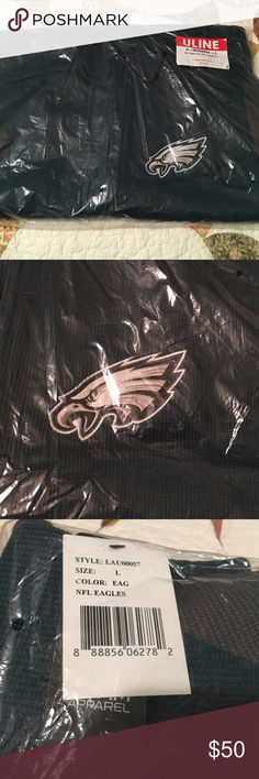 Eagles knit zip up Brand new! NFL knot full zip Philadelphia Eagles zip up! Sweaters Zip Up
