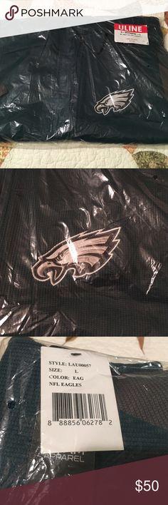 Eagles knit zip up Brand new! NFL knot full zip Philadelphia Eagles zip up! Sweaters Zip Up