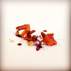 Licorice, salt caramel, milk chocolate, cheep milk & lakrids by Johan Bülow. Great dish uploaded by @remitalbot #gastroart