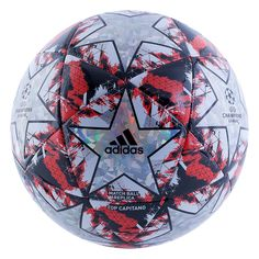Kick it like a star in the UEFA Champions League with the Finale 19 Top Capitano Soccer Ball. Soccer Workouts, Soccer Drills, Soccer Players, Top Soccer, Soccer Ball, Adidas Football, Football Fans, Soccer Stadium, Fifa