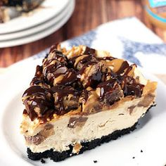 Reeses Peanut Butter Cup No Bake Cheesecake Recipes | Yummly