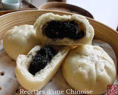Recettes d'une Chinoise: Baozi aux sésames noirs 黑芝麻包 hēizhīma bāo
