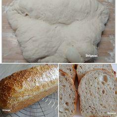 Egyszerű kovászos kenyér – Alaprecept – Betty hobbi konyhája