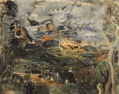 Raoul Duffy - la Baie de Saint Jeannet 1923