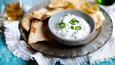 Raita is a cool, fresh condiment usually made with yoghurt, mint and cucumber. Try our easy raita recipe for the perfect accompaniment to your Indian curry or as a dip with poppadoms. Raita Recipe Indian, Cucumber Recipes, Cucumber Dip, Bbc Good Food Recipes, Indian Food Recipes, Italian Recipes, Vegetarian Recipes, Cooking Recipes, Style