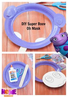 Get your groove on in this Oh inspired mask. Sponsored by DreamWorks.
