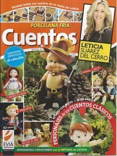 Cold Porcelain magazine STORY TALES - Cuentos (2012)  by Leticia Suarez del Cerro (Spanish) Projects for Step by Step - on Etsy, $12.99