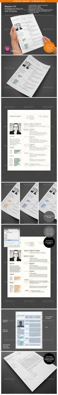 Portfolio Professional Resume Design Best Template Cv Graphic