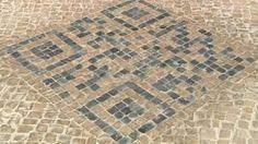 Des codes QR intégrés dans les trottoirs brésiliens