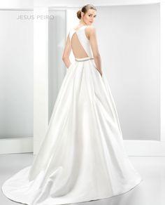 Vestido novia Jesús Peiró Ref.6030