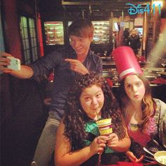 Dis411 Photos: Raini Rodriguez, Calum Worthy And Laura Marano Together June 7, 2013