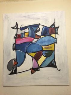 The Right One :)  #oiloncanvas #abstract #art #love #abtractart Oil On Canvas, Markers, Mario, Disney Characters, Fictional Characters, Abstract Art, My Arts, Graphic Design, Artist