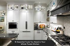 10 Essential Tools You Need in Your Whole Foods Kitchen. #kitchen #tools