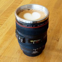 Love this Camera Lens Stainless Steel Coffee Mug at nomorerack.com for 62% off. Sign up now and receive 10 dollars off your first purchase