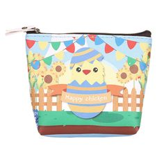 Aliexpress.com : Buy Women Girls Cute Cartoon Chicken Pattern Coin Purse Wallet Zipper Ladies Change Pouch Key Holder Bag Hot Sale Fashion 2017 from Reliable coin purse suppliers on You satisfied My Pleasure