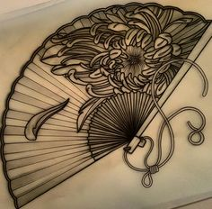 tattoo Ideas for book tattoo traditional posts Fan Tattoo, Book Tattoo, Tattoo You, Tattoo Sketches, Tattoo Drawings, Body Art Tattoos, Design Mignon, Hannya Tattoo, Japanese Tattoo Art