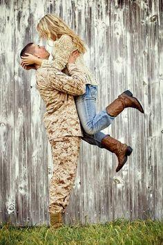 military couple <3