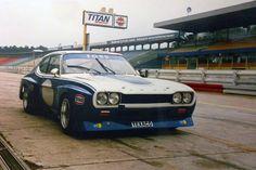 """Der Ford Capri RS """"Weslake"""" im Renneinsatz. Ford Capri, Motor Sport, Sport Cars, Race Cars, Ford Motorsport, Jackie Stewart, Mk 1, Ford Escort, Car Stuff"""