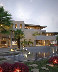Chic modern home with gorgeous window treatment and luxurious design. www.sandiego-shutters.com